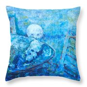 Boy Lights Up The Would Throw Pillow