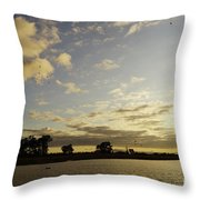 Boyanup Dusk Throw Pillow