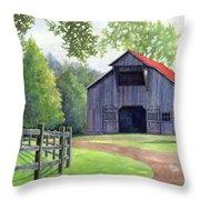 Boyd Mill Barn Throw Pillow