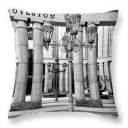 Boylston Lights Throw Pillow