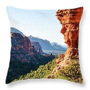 Boynton Canyon 04-321 Throw Pillow