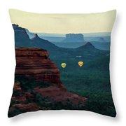Boynton Canyon 07-079 Throw Pillow