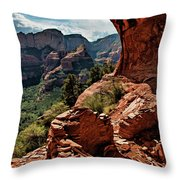 Boynton Canyon 08-160 Throw Pillow