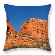 Boynton Canyon Red Rock Secret Throw Pillow