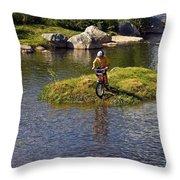 Boy's Adventure Throw Pillow