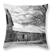 Bradford County Road Throw Pillow