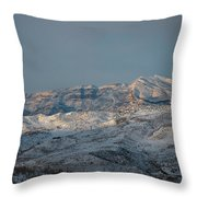 Bradost In The Winter Throw Pillow