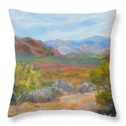 Bradshaws, West Of Phoenix Throw Pillow