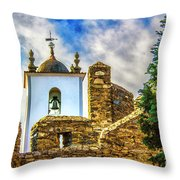 Braganca Bell Tower Throw Pillow