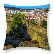 Braganca Citadel Throw Pillow
