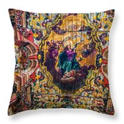 Braganca's Painted Ceiling Throw Pillow