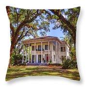Bragg Mitchell House In Mobile Alabama Throw Pillow