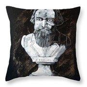 Brahms Throw Pillow