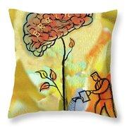 Brain Care Throw Pillow