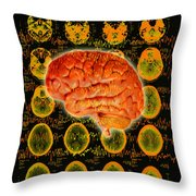 Brain Composite Throw Pillow