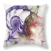 Brain Damage Throw Pillow
