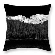 Brainard Lake - Indian Peaks Throw Pillow