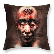 Brainwashed Throw Pillow