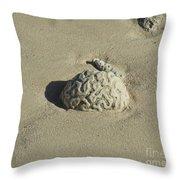 Brainzzzz Throw Pillow