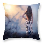 Brambledown Throw Pillow