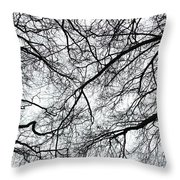 Branches Throw Pillow