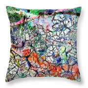 Branches Of Life Throw Pillow