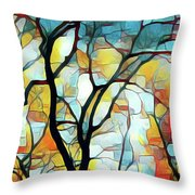 Branching Out Throw Pillow