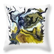 Branching Out I Pf Throw Pillow