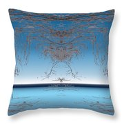 Branching Outward Throw Pillow