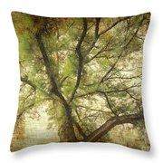Branching Upward Throw Pillow