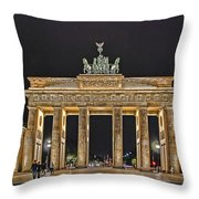 Brandenburg Gate Throw Pillow
