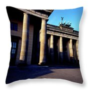 Brandenburger Tor / Gate Berlin Germany Throw Pillow