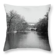 Brandywine Creek  Throw Pillow