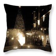 Branson Landing Christmas  Throw Pillow