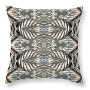Brass Rose Pillar Throw Pillow