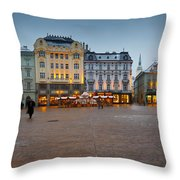 bratislava 'II Throw Pillow