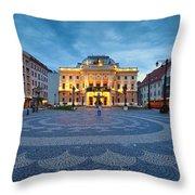 bratislava 'XXVI Throw Pillow