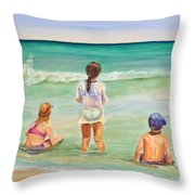 Brats Throw Pillow