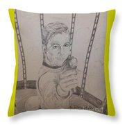 Brave Kirk Throw Pillow