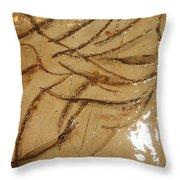 Brave  Tile Throw Pillow