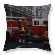 Bravest Of The Brave Throw Pillow