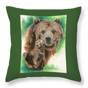 Brawny Throw Pillow