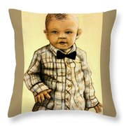 Brayden Christopher Stratton Throw Pillow