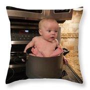 Braydon Soup Throw Pillow