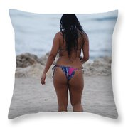 Brazilian Beauty Throw Pillow