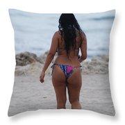 Brazilian Beauty Throw Pillow