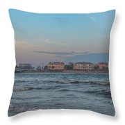 Breach Inlet Water Scape Throw Pillow