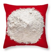 Bread Flour Throw Pillow