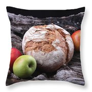 Bread Landscape Throw Pillow