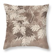 Breadfruit Tree Throw Pillow